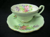 E Brain - FOLEY cabinet cup & saucer